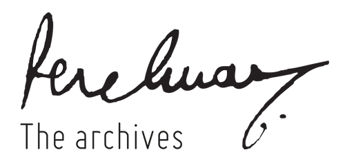 Perelman - The archives